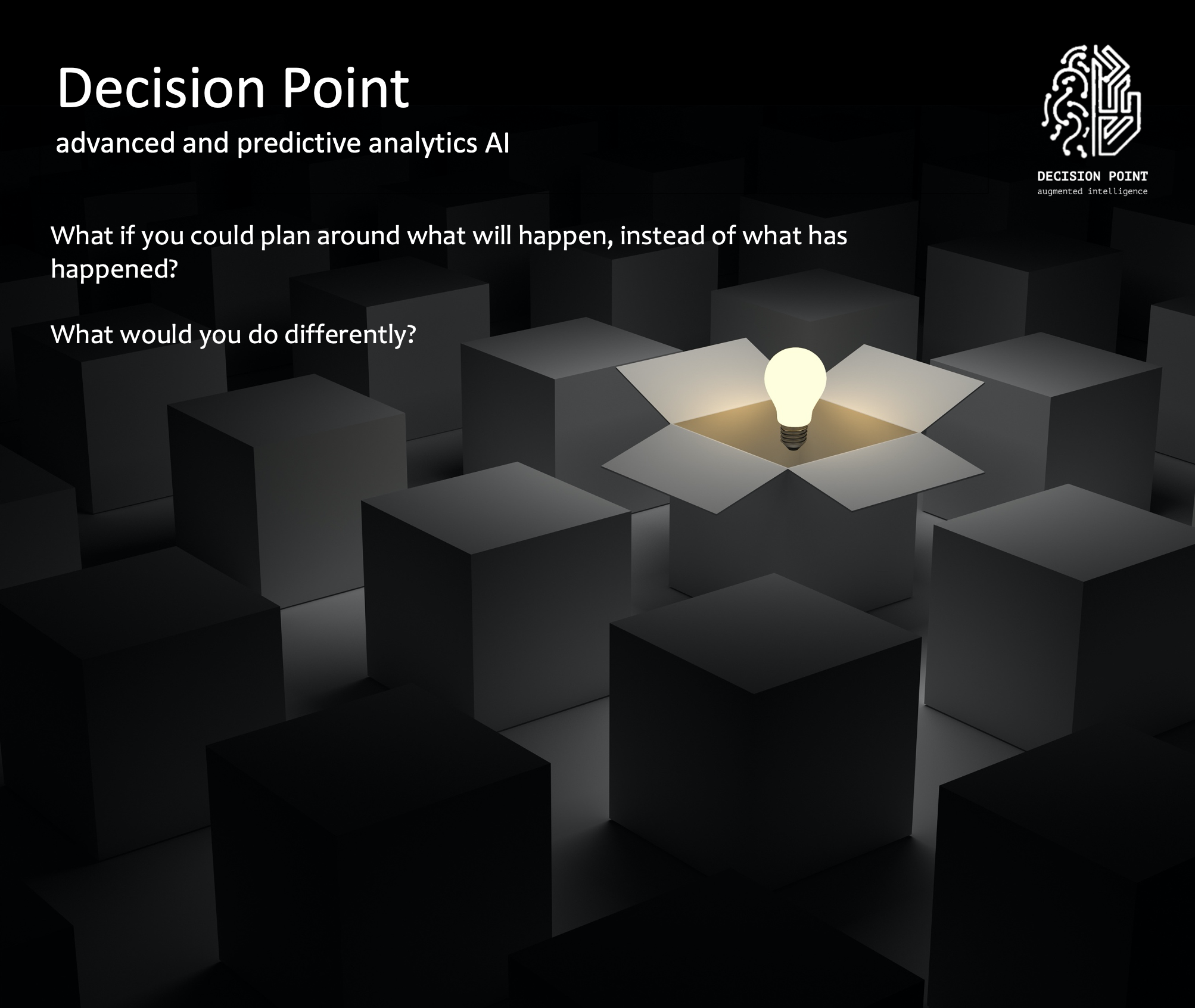 Decision Point advanced and predictive analytics AI