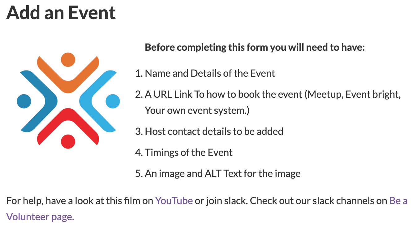 Add an Event Agile20 Reflect Festival